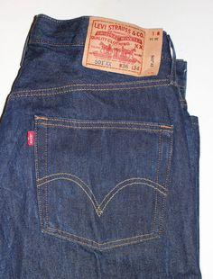 Levis 514 Men's Jeans Size 36 x 34 Denim Red Tab #Levis ...