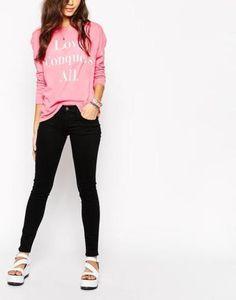 wildfox carmen skinny jeans  black #skinnypants #pants #jeans #streetwear #denim #covetme