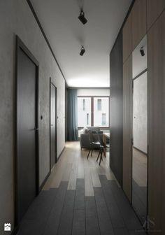 Mieszkanie w Warszawie - zdjęcie od KamińskaStańczak - Hol / Przedpokój - Styl Nowoczesny - KamińskaStańczak