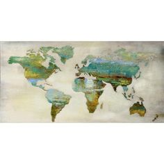 Worldly Wall Art