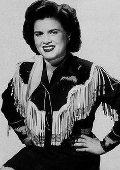 Patsy Cline: grew up with her music, 'walking after midnight' is an inspiration for my first tattoo