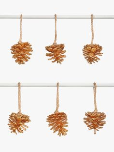 John Lewis & Partners Campfire Pine Cone Tree Decorations, Pack of Gold Pine Cone Tree, Cone Trees, Pine Cones, Christmas 2019, Christmas Themes, Bloomsbury Group, John Lewis Shops, Great Memories, Tree Decorations