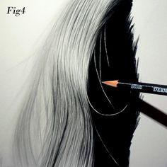 drawing hair Top Tips Series 3: Graham Bradshaw