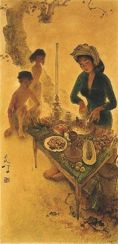 Lee Man Fong - Rojak seller