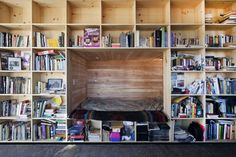 Do we spy a reading nook? Project - Nakai House - Architizer