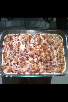Cinnamon French Toast Bake. Hello Christmas morning breakfast!