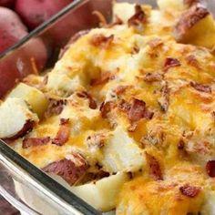 Potato bacon cassrol
