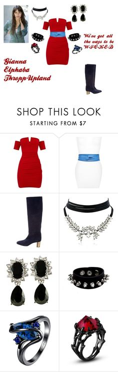 """Gianna Elphaba Thropp-Upland (Ways to be Wicked)"" by elphaba-m-thropp ❤ liked on Polyvore featuring Ada, Emilio Pucci and WithChic"