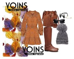 """* Yoins *"" by irmasehic ❤ liked on Polyvore featuring FOSSIL, Tory Burch, women's clothing, women, female, woman, misses, juniors, yoins and yoinscollection"