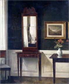 Carl Vilhelm Holsøe (Danish, 1863-1935) - Interieur.