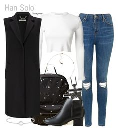 Han Solo (Star Wars Episode IV: A New Hope) by claucrasoda on Polyvore featuring polyvore Mode style Rosetta Getty Marella Topshop City Classified Hollister Co. Thomas Sabo adidas fashion clothing NYFW