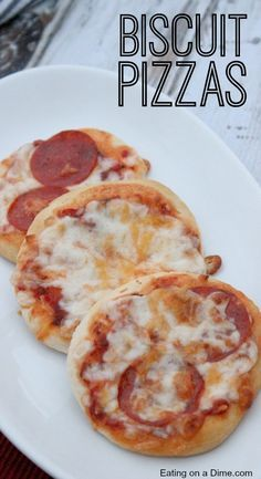 You have to try this Easy Biscuit Pizza Recipe. We use canned biscuits for our pizza crust! The kids love it!