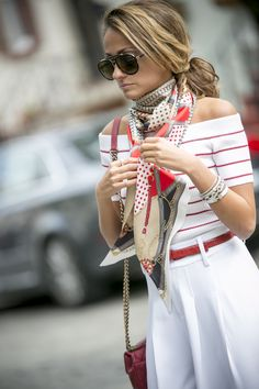 A Pinto equestrian scarf from intermix