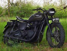 """""""Great Escape"""" Triumph Bonneville #motorcycles"""