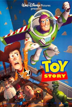 Day 18: My favorite Disney Pixar film is the first Toy Story. Toy Story (1995)