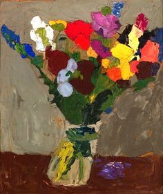 Still Life—Flowers, ca. 1938, William H. Johnson