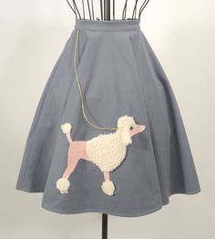 Rock N Roll 50s Authentic Poodle Skirt
