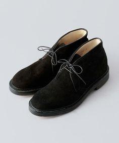 new products 4de85 58c31 ALDEN×International Gallery BEAMS CHUKKA BOOTS BLACK. kazuming · Shoes