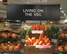 Well played @marksandspencer :) #livingontheveg #pun #vegetables #wordplay