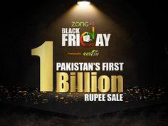 Daraz.Pk Hit RS 1 Billion Sale on Black Friday