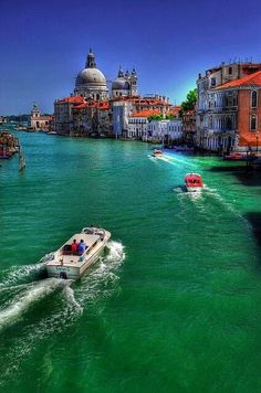 Venice, this is the best way to arrive!