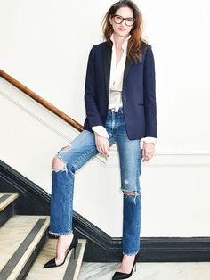 All the Times We've Wanted to Dress Like Jenna Lyons via @WhoWhatWearUK