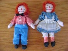 Vintage Ragedy Ann & Andy Dolls