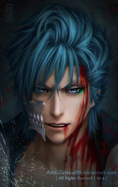 This is the reason i am single. I can't date anime characters. Like this really hot & psychotic espada. If anime characters were real then that would solve a lot of the otakus problems, such as loneliness. Because they cant date anime characters. Manga Anime, Fanart Manga, Fanarts Anime, Shinigami, Bleach Fanart, Bleach Manga, Bleach Anime Art, Bleach Characters, Anime Characters