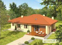 Grzegorz - projekt domu - Archipelag Dream House Plans, Gazebo, Outdoor Structures, Architecture, Outdoor Decor, Home Decor, New Houses, Arquitetura, Kiosk