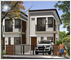 Architect modern zen type house design decoration for sale in manila bungalow plans meaning window ideas . Zen House Design, Home Design 2017, Dream Home Design, Modern Zen House, New Model House, Narrow House Plans, Small Apartment Design, Apartment Layout, Townhouse Designs