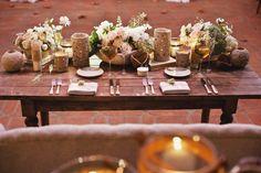 Rancho Las Lomas   Amy & David Wedding 1/7/12   Sargeant Photography   vintage sweetheart table