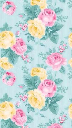 Mint pink yellow pastel vintage floral iphone phone wallpaper background lock screen Source by Floral Wallpaper Iphone, Cellphone Wallpaper, Flower Wallpaper, Screen Wallpaper, Pattern Wallpaper, Wallpaper Backgrounds, Iphone Wallpaper, Mobile Wallpaper, Trendy Wallpaper