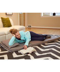 Dove Gray Tri-Fold Bed