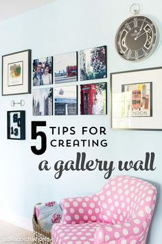 Creating a foolproof gallery wall is great for displaying family photos and memories from travels. This can be just the personalized home decor idea that you've been looking for—especially when paired with a soft blue tone of BEHR paint in the background.