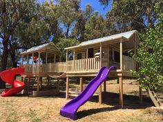 Searching for a company that delivers a quality cubby house Tasmania to Hobart and surrounds? Country Cubbies can arrange shipping – contact us today. Kids Cubby Houses, Kids Cubbies, Play Houses, Backyard Swing Sets, Backyard Playground, Backyard For Kids, Kids Play Equipment, Cute Cottage, Kids Laughing