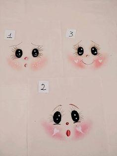 me ~ Rostinho pintado Eye Painting, Doll Painting, Doll Face Paint, Clothespin Dolls, Cartoon Faces, Doll Eyes, Sewing Dolls, Kawaii Drawings, Doll Head