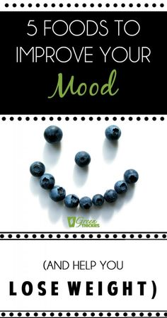 5 Foods To Improve Your Mood (And help you lose weight) - Health & Diet Plans Help Losing Weight, Lose Weight, Weight Loss, Healthy Green Smoothies, Essential Oil Diffuser Blends, Natural Health Remedies, Healthy Tips, Healthy Recipes, Real Food Recipes