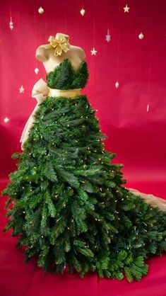 Christmas Tree Dress Forms