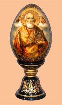 Икона Святителя Николая, Архиепископа Мир Ликийских, Чудотворца «Мастерская раритетов Монаховой»