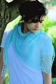 lavalette free knitted shawl pattern