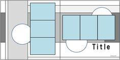 Double scrapbook layout …