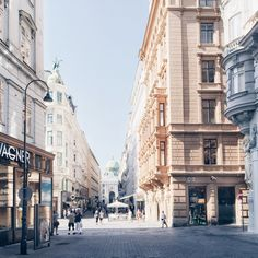 Located in the first district the Graben is one of the most famous street in