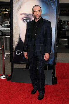 Only Rory McCann could pull this suit off.