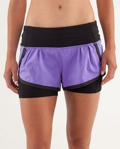 cute & comfy looking running shorts. they even have a zip pouch to carry stuff!
