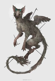 Coey: Trico, The Last Guardian by CoeyAndShy on Etsy https://www.etsy.com/listing/239031781/coey-trico-the-last-guardian