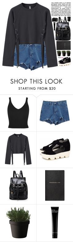 """""""For Whom the Bell Tolls // NewChic Style"""" by scarlett-morwenna ❤ liked on Polyvore featuring Smythson, Muuto, CO, Bobbi Brown Cosmetics, NARS Cosmetics and vintage"""
