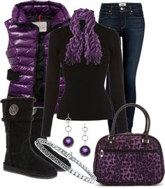 """Lurve this. Even with the ugly vest. Tho I'd pick one less shiny. """"Untitled #113"""" by mzmamie on Polyvore"""