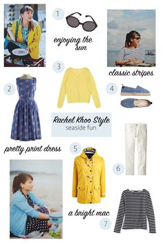 Rachel Khoo Style   At the Beach Lookbook