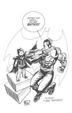 """For Miles aka Batkid - a REAL Superhero"" by Graham Nolan"