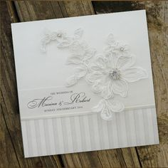 Elegant Strip Wedding Invitations
